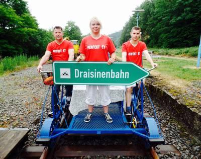 Hier geht es zur Draisinenbahn Oberbrügge-Halver